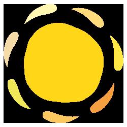 Singoldsand Festival Sonne